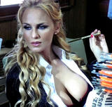 Sabrina Rojas desnuda en Playboy TV Roja venganza capitulo 1 primer capitulo