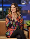 Дрю Бэрримор, фото 2843. Drew Barrymore 'The Tonight Show with Jay Leno' in Burbank - 02.02.2012*>> Video <<, foto 2843,