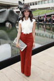 Abigail Spencer ~ Malandrino Presentation at Mercedes Benz Fashion Week - Sept. 12, 2010 (x4)