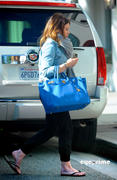 Hilary Duff Shops at Ralph Lauren in Hollywood 02/17/11 HQ tags