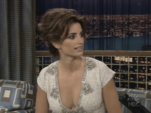 Penelope Cruz - Late Night with Conan O'Brien (2005)