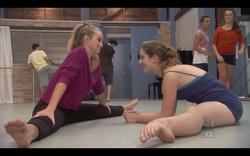 Feet-In-Movies: Alicia Banit (left) Xenia Goodwin (right