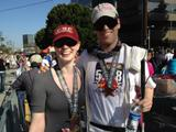 Deborah Ann Woll - Hollywood Half Marathon - April 7, 2012 (x10)