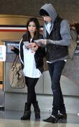 Brenda Song at LAX airport 10/3/11
