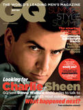 Charlie Sheen British GQ August 2011