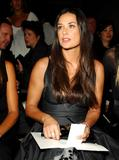Demi Moore @ The 2008 Donna Karan Collection During Fashion Week - September 12, 2007