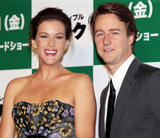 Liv Tyler shows cleavage at The Incredible Hulk premiere in Tokyo